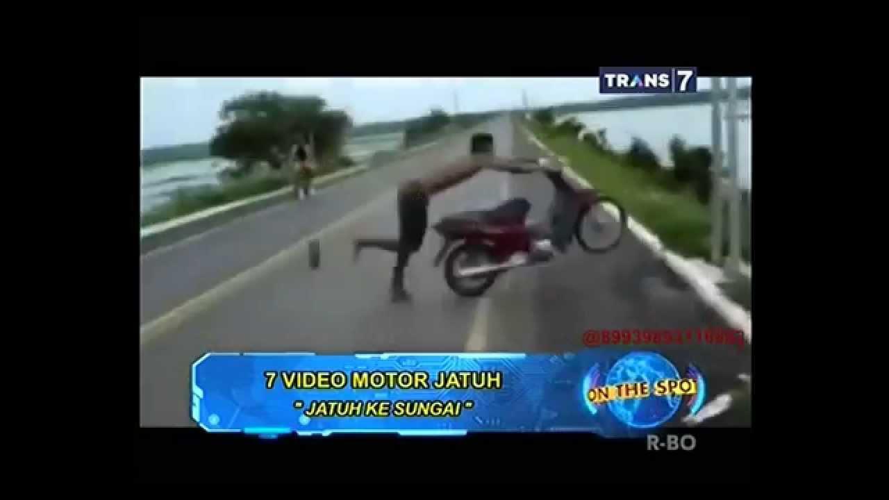 On The Spot Trans  Vidio Motor Jatuh Maaflucu Banget On The Spot  You