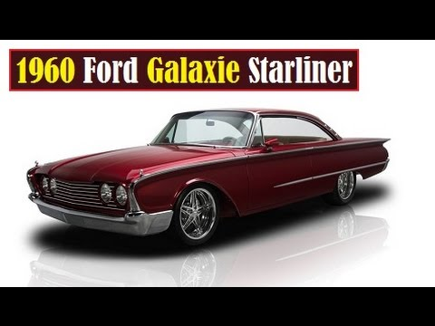 1960 ford galaxie starliner custom youtube. Black Bedroom Furniture Sets. Home Design Ideas