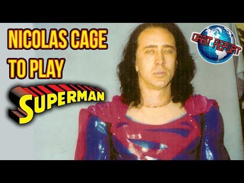 Nicolas Cage To Play Superman  Orbit Report