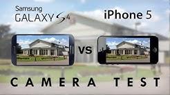 Galaxy S4 vs iPhone 5 - Camera Test Comparison