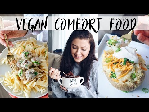VEGAN COMFORT FOOD (easy recipes)