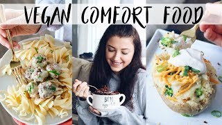 VEGAN COMFORT FOOD (easy recipes)