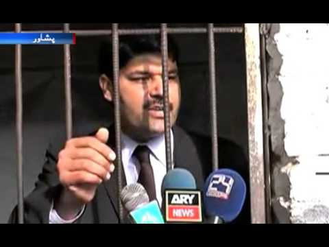 Peshawar  Warden and Lawyer Fight