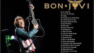 Top 30 Of Bon Jovi Collection - Bon Jovi Greatest Hits Full Album