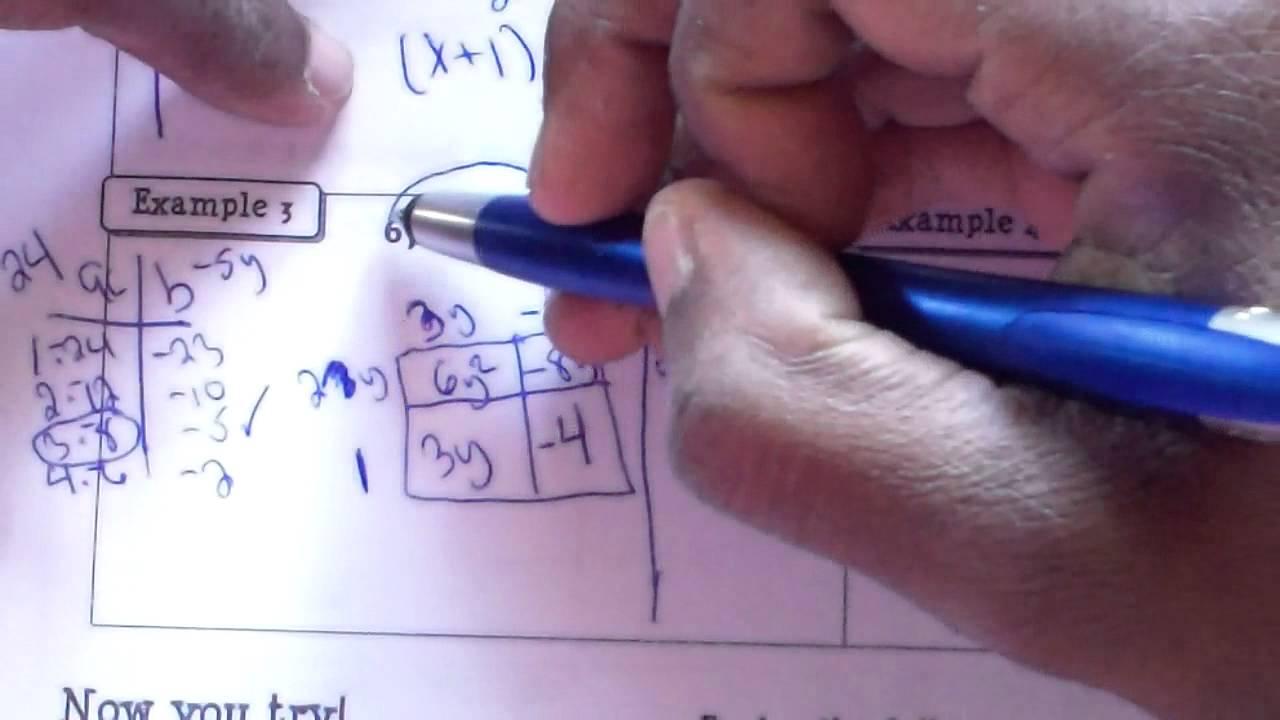 Slip Slipe Or Slide Divide Method Algebra Friday Lesson Youtube
