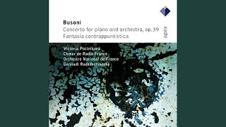 Busoni : Piano Concerto Op.39 : V Cantico