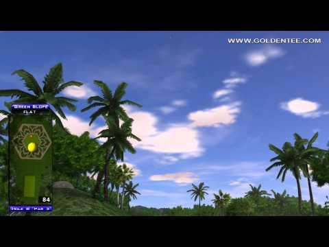 Golden Tee Great Shot on Pearl Lagoon!