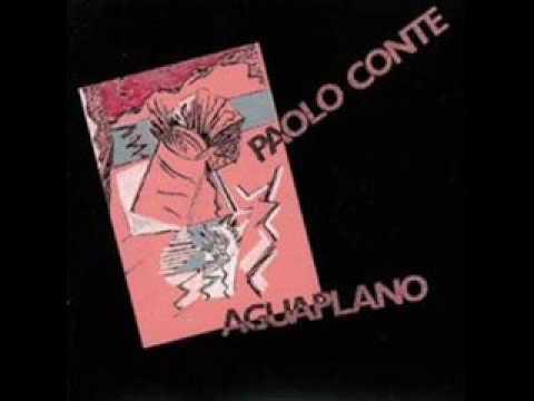Aguaplano - Paolo Conte