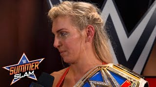 Charlotte Flair gets emotional about Becky Lynch