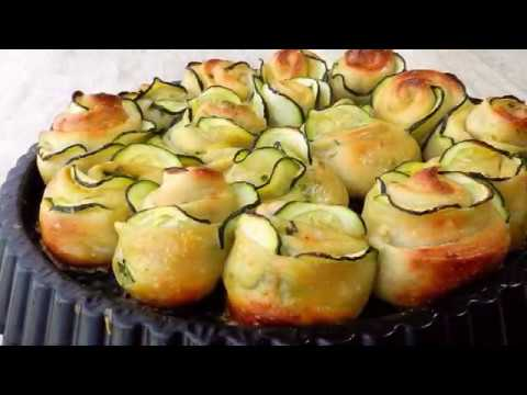 Zucchini Garlic Rose Bread Recipe