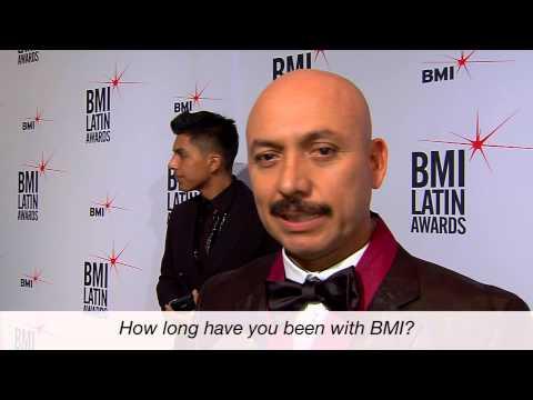Pepe Solano Interviewed at the 2015 BMI Latin Awards