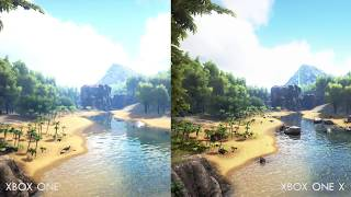 ARK: Survival Evolved Xbox One vs Xbox One X Comparison