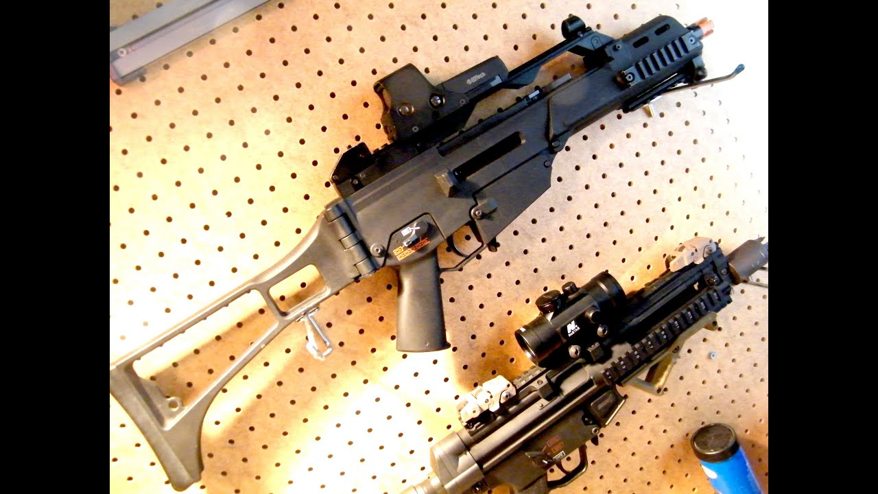 REVIEW: Classic Army G36C Airsoft Electric Gun -ASTKilo23-