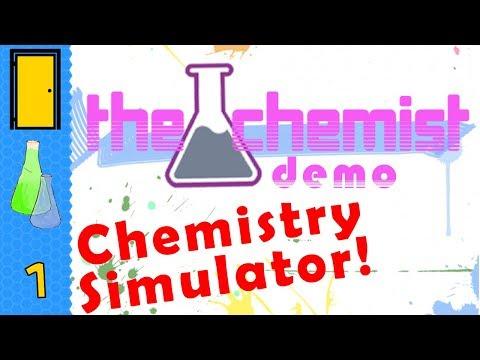 THE CHEMIST (Demo) - Black Market Chemistry Simulator! - Let's Play The Chemist