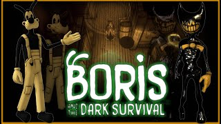 THE INK DEMON IS AFTER ME!!! | Boris and the Dark Survival Gameplay!!!