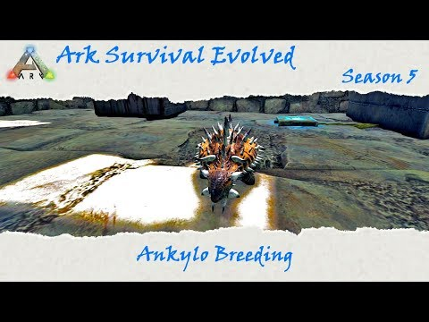 Ark Survival Evolved S5E26: New metal refinery and Ankylosaurus breeding!