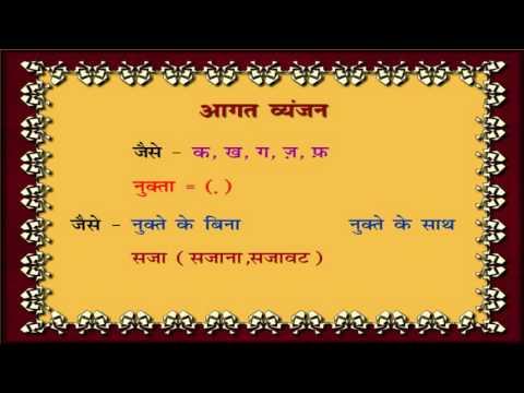 Varn - vichar -   वर्ण - विचार