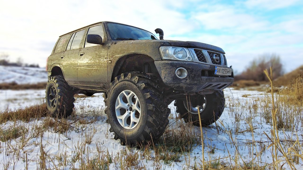CRAZY NISSAN Patrol vs TOYOTA 70 vs LEXUS RX 350 vs NIVA vs UAZ [MUD OFF Road]