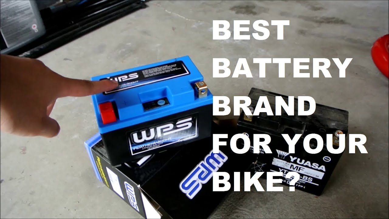 2017 best motorcycle lithium battery? (and why it's not shorai