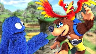 Is This Real Life? | Banjo and Kazooie DLC Fighter Impressions