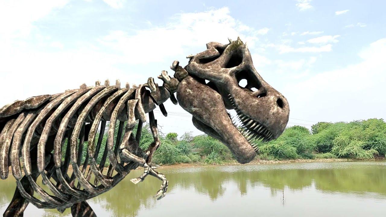 T-Rex is Back 2 - Jurrasic World Fan Movie