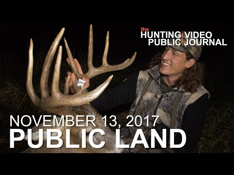 Public Land Day 30: Ghillie Suit Bow Kill From the Ground | The Hunting Public