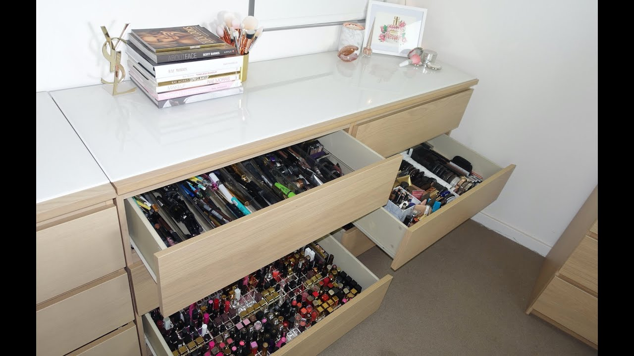 Tour Of My Filming Room Makeup Collection Amp Storage