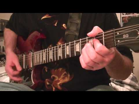 AC/DC-WAR MACHINE-RHYTHM GUITAR
