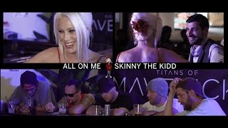 "Gambar cover Skinny the Kidd ""All on Me"" featuring J. Beatz and C. Lennon"