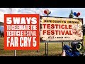 5 Ways to Celebrate the Testicle Festival in Far Cry 5 - Far Cry 5 gameplay