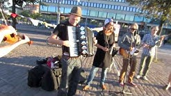 Mirkka & Madrugada - Hakaniemen markkinat + jamit - Acoustic album release tour 2013