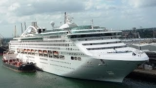 Sea Princess Day 1 - Southampton Sail Away