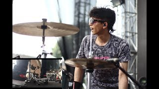 Download Lagu AFTERCOMA - BERONTAK LIVE INDIEBASH (DRUM CAM) mp3