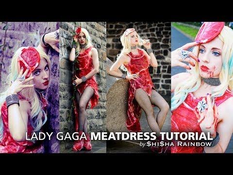 Lady Gaga Meatdress - fast & easy! ► Cosplay Tutorial