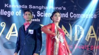 fashion show at yuva spandan 2017 part 2 kaveri college of arts science and commerce