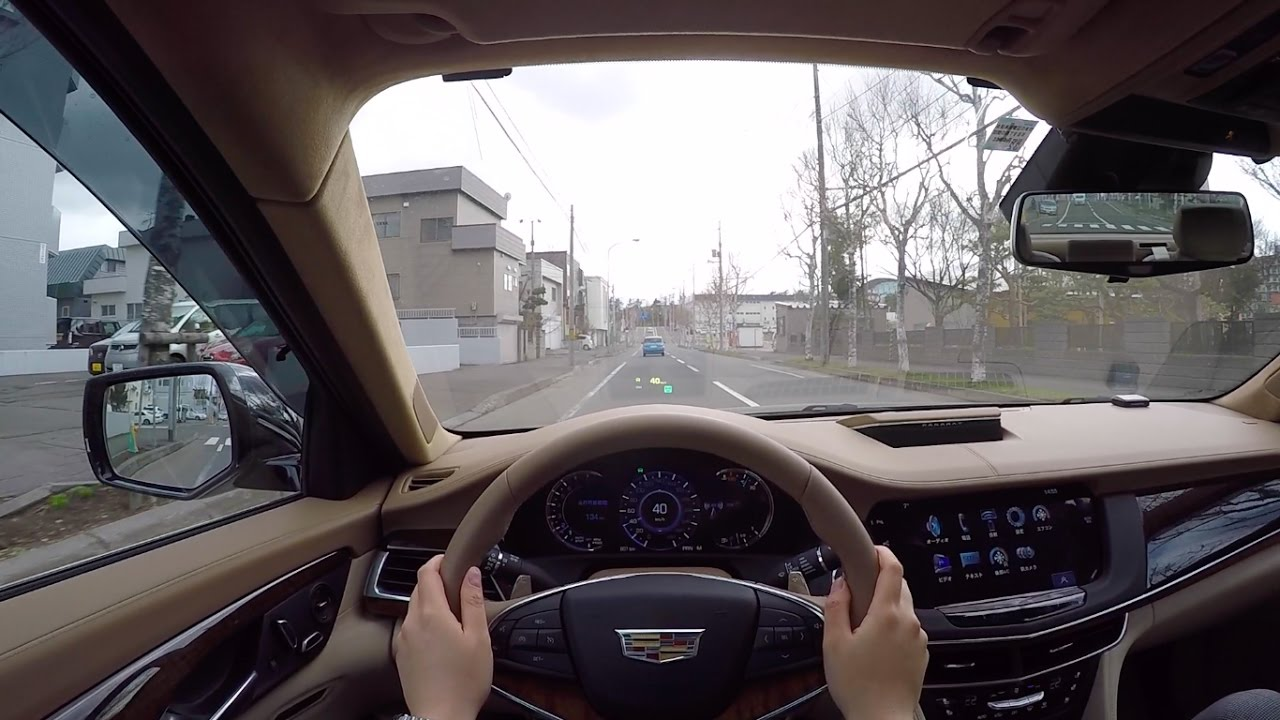 test drive 2017 new cadillac ct6 platinum 3 6l awd pov city drive youtube. Black Bedroom Furniture Sets. Home Design Ideas