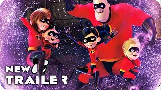 Incredibles 2 All Clips & Trailer (2018) Disney Pixar Movie