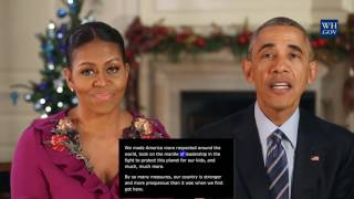 بالفيديو: الرسالة الأخيرة من أوباما وزوجته للأمريكيين