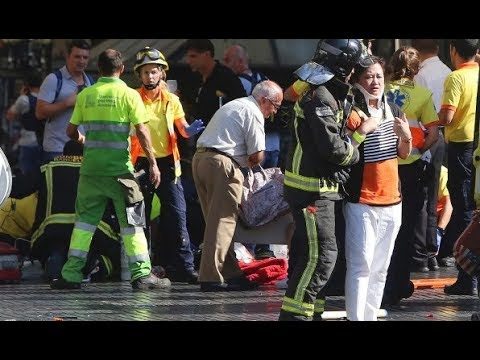 TERROR ATTACK In #Barcelona #Spain Car Runs Into Tourists Killing 13 And Injuring 50 In Spain