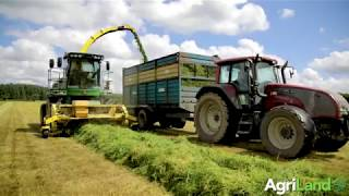 Contractor Maurice Gannon's silage harvesting fleet (2017)