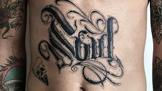 Calligraphy - Tattoo Timelapse