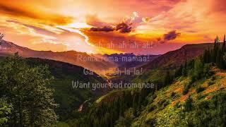 Bad Romance by Lady Gaga  (Lyrics)