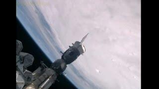 Huracán Patricia visto desde el Espacio