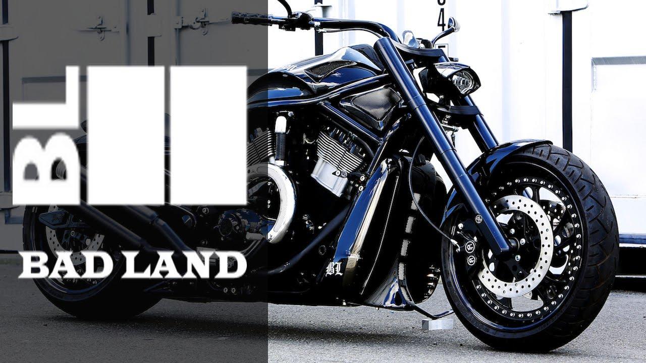 Harley Davidson V Rod Gigger By Bad Land Motorcycle Muscle