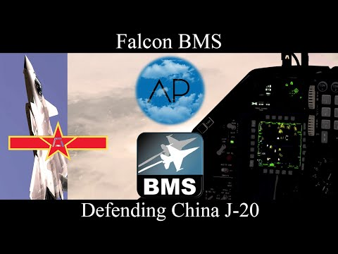 Falcon BMS 4.35 - 669VFS - Crazy Taiwan Picture! J-20 Stealth Fighter
