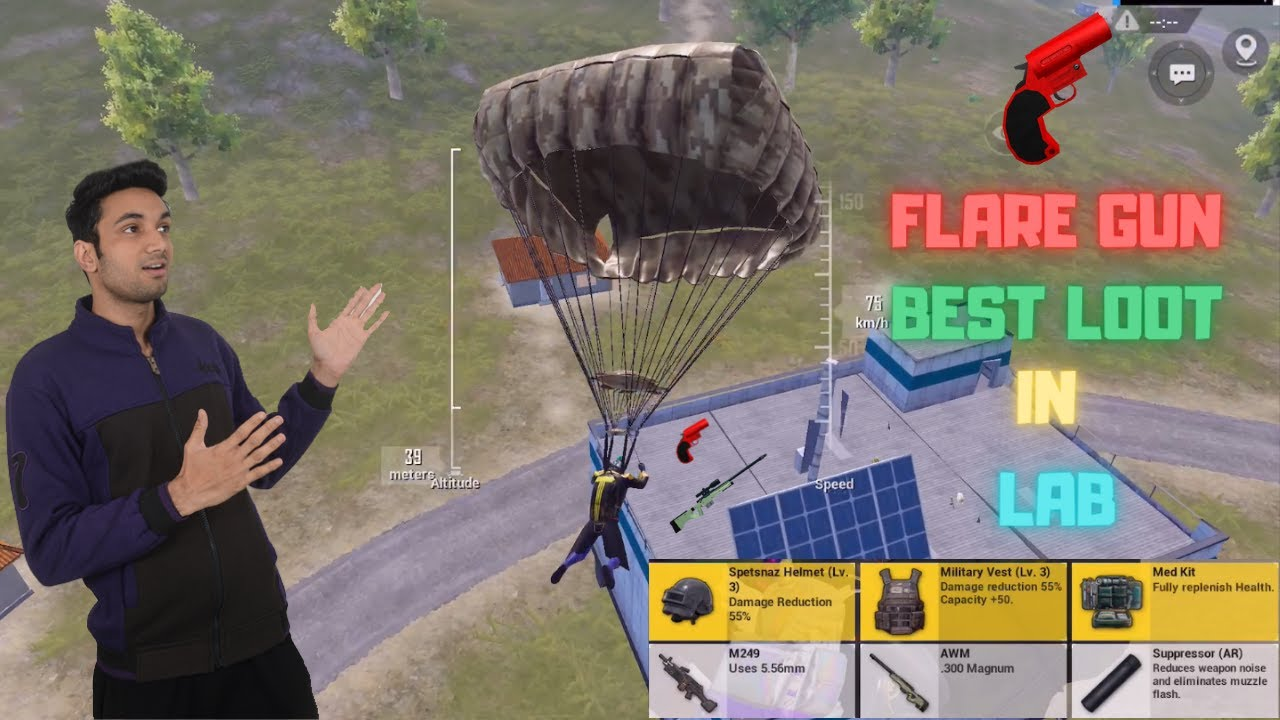 Download I Landed on Lab Got Flare Gun In Traverse Insectoid Mode Pubg Mobile Erangel Map