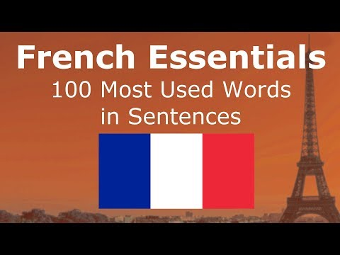 100 Most Used French Words in Sentences
