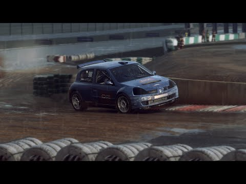 DiRT Rally 2.0 - Rallycross At Mettet With 100% AI (Renault Clio Super 1600 / Gameplay)