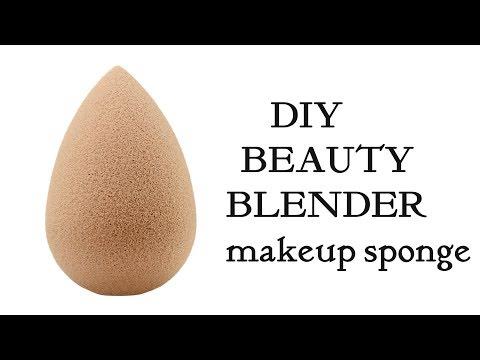DIY Beauty Blender in 10 rs   Make your own  makeup beauty blender Sponge