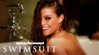 Nina Agdal's Bears All Bath Shoot | Intimates | Sports Illustrated Swimsuit